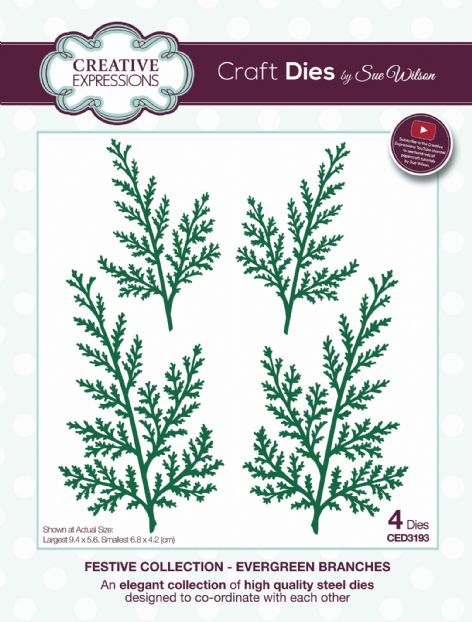 Festive Collection - Evergreen Branches